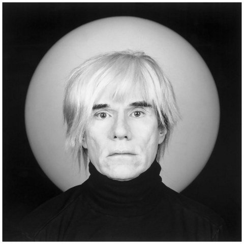 B/W Photo Andy Warhol